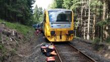 Çekya'da iki yolcu treni kafa kafaya çarpıştı: 3 ölü, 30 yaralı