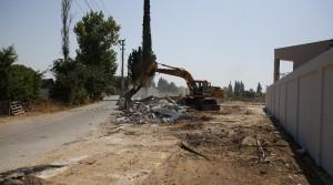 Kırcami'de yol açma çalışmaları devam ediyor