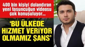 Thodex vurguncusu 'Türkiye'de hizmet veriyor olmamız şans' demiş
