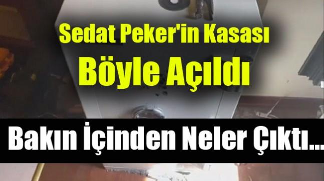 Sedat Peker'in Kasası Böyle Açıldı