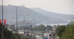 Afrika sıcakları, toz bulutuyla Bodrum'un üstüne çöktü