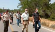 KKTC Dışişleri Bakanı ve Başbakan Yardımcısı Kudret ÖZERSAY Yangınla ilgili bir paylaşım yaptı.