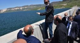 DSİ Genel Müdür Vekili Yıldız, Ilısu Barajında incelemede bulundu