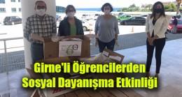 Girne'li Öğrencilerden  Sosyal Dayanışma Etkinliği