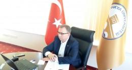 Rektör Prof. Dr. Tabakoğlu, ÜNDER'in
