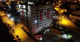 Yozgat polisi 19.19'da İstiklal Marşı'nı okudu