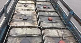 Adana ve Niğde'de 9 bin 500 litre kaçak akaryakıt ele geçirildi