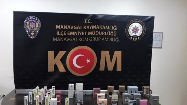 Antalya'da kaçakçılık operasyonları
