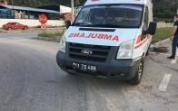 Bilecik'te otomobille ambülans çarpıştı, 1 yaralı