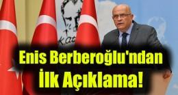 Milletvekilliği düşürülen Enis Berberoğlu'ndan ilk açıklama