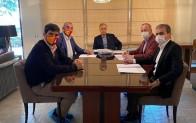 Galatasaray'da Başkan Cengiz'in evinde toplantı yapıldı