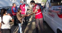 Kızılay deprem bölgesinde