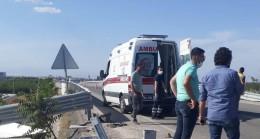 Malatya'da otomobil şarampole düştü: 1'i ağır 3 yaralı