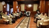 Bakan Akar, Libya Başbakanı Serrac ile görüştü