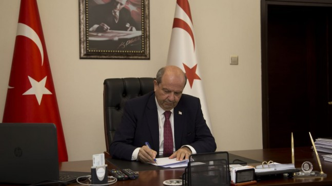 KKTC Başbakanı Tatar'dan Türkiye'ye başsağlığı mesajı