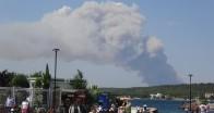 Gelibolu yarımadasında yangın
