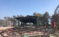 Havai fişek fabrikasından geriye beton bloklar kaldı