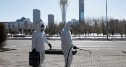 Kazakistan'da Covid-19'a karşı karantina uygulaması başladı
