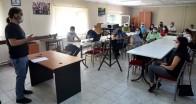 Kesim alanında görevli personele korona virüs eğitimi