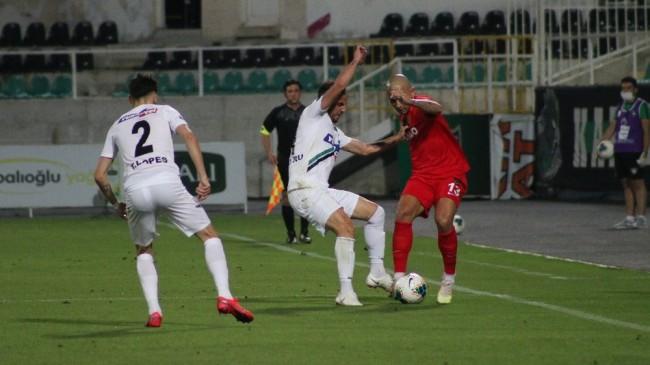 Süper Lig: Denizlispor: 0 – Gaziantep FK: 1 (İlk yarı)