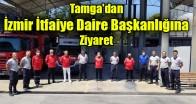 Tamga'dan İzmir İtfaiye Daire Başkanlığına Ziyaret