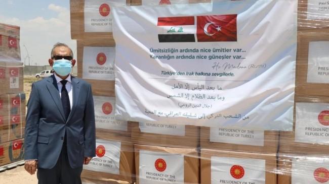 Türkiye'den Irak'a tıbbı yardım uçağı
