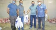 681 aileye kurban eti yardımı yapıldı