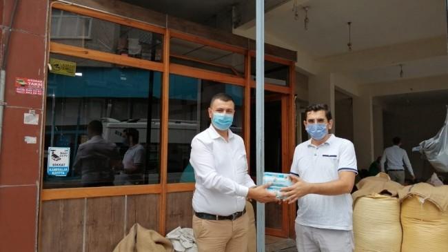 ÇTB'den maske dağıtımı
