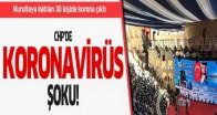 CHP'de Koronavirüs Şoku!