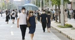 Japonya'da termometreler 41 dereceyi gösterdi