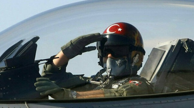 Türk F-16'ları TurAz Kartalı Tatbikatıyla Azerbaycan semalarında