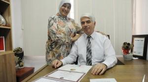 Şehit babası okuma azmiyle üçüncü üniversite diplomasını aldı