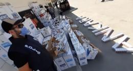 Ankara'da 57 bin paket kaçak sigara ele geçirildi