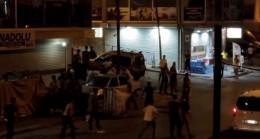 Arnavutköy'de düğünde çıkan kavga caddeye taştı