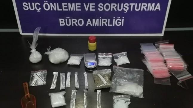 Bursa'da uyuşturucu ticaretine polis baskını