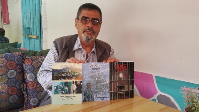 Eskişehir'de yaşayan İranlı Şair Ali Vafi'nin 3 şiir kitabı yayınlandı