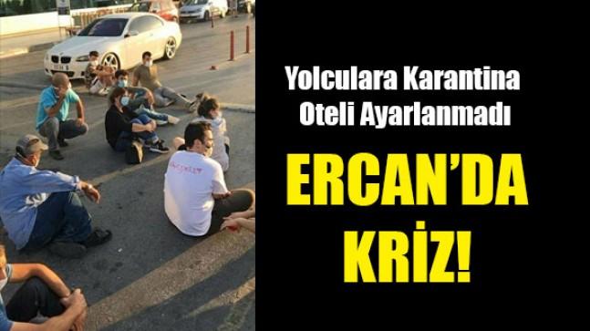 Gelen yolcular Ercan havalimanında mahsur kaldılar