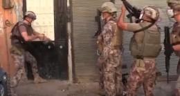 Gaziantep'te 655 polisle 'Narko-Asayiş' operasyonu yapıldı