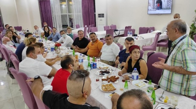 Kilis'te gastronomi tanıtım gezisi