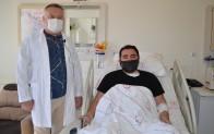 Nefes darlığı yaşayan hasta ALKÜ'de şifa buldu