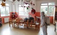 Terme Belediyesi okulları yüz yüze eğitime hazırlıyor
