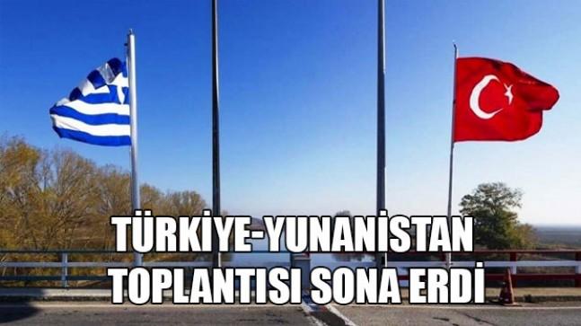 Türkiye-Yunanistan askeri heyetleri arasındaki toplantı sona erdi