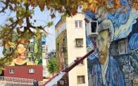 Toroslar Güneykent'te üçüncü duvar resmi de tamamlandı