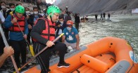 Bakan Kasapoğlu, Zap Nehri'nde rafting yaptı