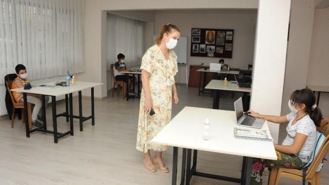 Balçova EBA Destek Merkezi açıldı
