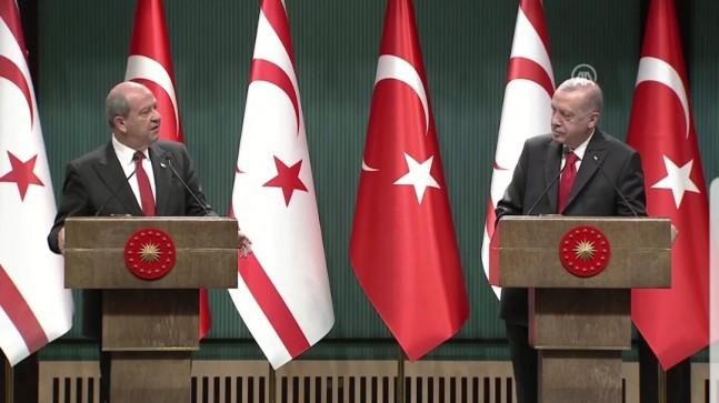 """KKTC CB Tatar: """"Türkiye'nin beşli konferans önerisi Kıbrıs konusunda anlaşma için son şanstır"""""""