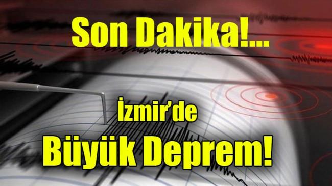 İzmir'de Büyük Deprem