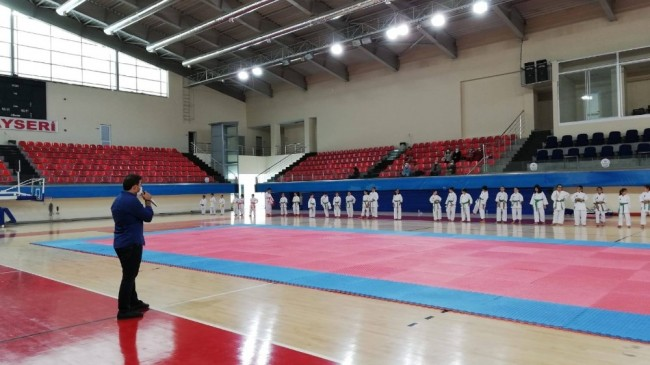 Karate'de kuşak heyecanı