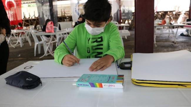 Kartal Belediyesi Sanat Akademisi resim kursu sınavı sıkı önlemlerle yapıldı