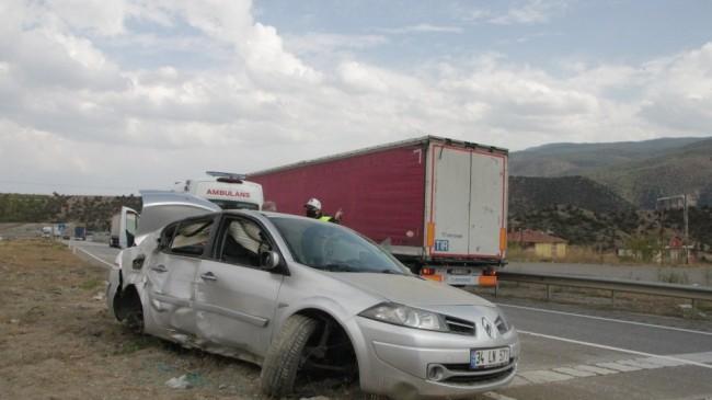 Kastamonu'da iki ayrı kaza ucuz atlatıldı